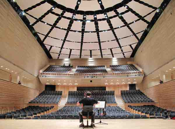 EMPAC Concert Hall, Kirkegaard Associates (Photo: India Lombardi-Bello)